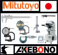 High precision highly trusted Mitutoyo measuring & gauging tools made in Japan