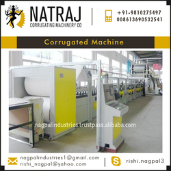 HOT Selling Top Speed and Very High Quality Corrugated Machine for Sale