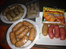 "Meat Marinated ""Filipino Longganisa Garlic Flavor"" Pork or Beef"