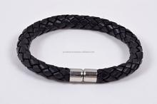 Leather Braided Leather Bracelet