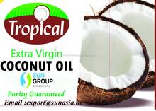 Extra virgem prensado a frio óleo de coco