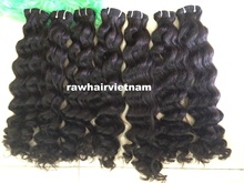new arrival Vietnam grade remy virgin wholesale deep wave cuticle cheap hair from mongolian