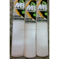 MB BUBBER SHER LE english willow bats WITH 3 GRIPS 3 PRACTICE BALL