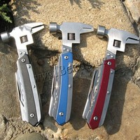 mixed colors painted Stainless Steel Multifunctional Knife