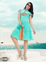 Neck Designs Of Kurtis | Bollywood Fashion Western Style Kurti