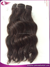 Pure virgin remy 100% Vietnamese human hair machine weft wavy hair extensions