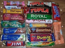 masterfoods, Twix , Bounty, Snickers, Mars, Kit Kat, kinder joy and surprise, Nutella chocolate