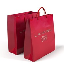 2015 Customized paper bag&promotional paper bag&craft paper bag with your logo(Factory sale price)