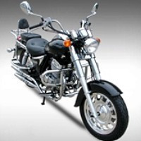 new 250cc Road Hog Single Cylinder 4 Stroke Motorcycle