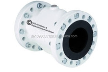 Air Pinch Valve with flange connection, VF Series, aluminum flange with flange sleeve