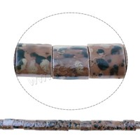 Glazed Porcelain Beads Rectangle coffee color 15x17x9mm Hole:Approx 4x11mm Sold By PC