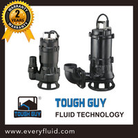All Cast Iron Non-Clog Sewage Pump-Tough Guy SSC series