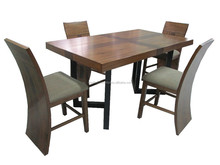 Solid wood dining set ,classic home furniture TN-118