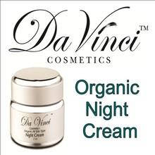 Da Vinci Cosmetics Night Cream - Organic - Skin Care Products