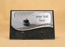 Promotional funeral plaque - Weeding decorations - French handmade