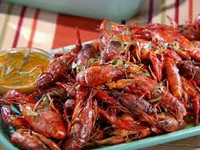 Frozen Cooked Whole Crawfish in Drill Brine