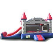 BUY 2 UNIT GET 1 FREE : EZ Inflatables Grey Castle Combo Bounce House Multicolor - C225