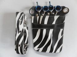 Barber Tools Bag Salon Hairdressing Holster Pouch Rivet Clips Holder Case with Waist Shoulder