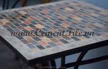 Encaustic cement tiles CTS Mosaic Table 1