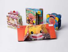 cartoon foto bambini colorati storia di plastica dura copertina del libro di stampa