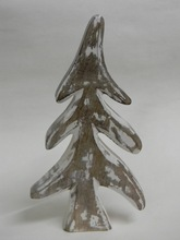 NMW-1023snowing Wooden Christmas Tree