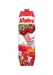 Cherry with mixed Fruits Juice with Sakura flavor Malee 100% Juice 1000 ml. from Thai Thailand