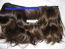 machine weft human hair exporter from india