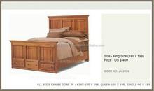 Wooden Teak Bed