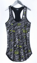hot blank jersey sexy fancy halter stringer tank top