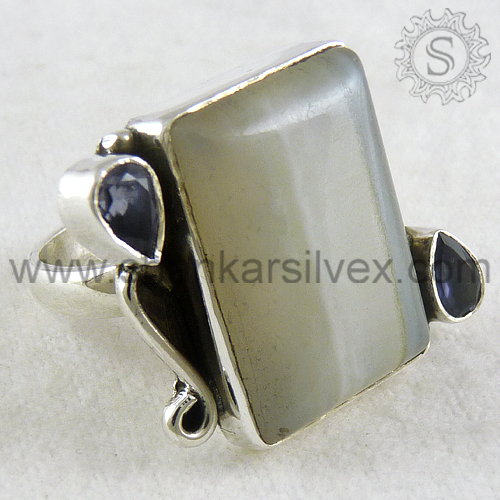 925 sterling silver gemstone ring jewellery wholesale