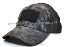 Adjustable Airsoft Military Baseball Tactical Hat Cap w/ Velcro Attachment Base