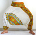 Hermosos pantalones señoras de seda Harem - Casual Pantalones Loose Womens Harem