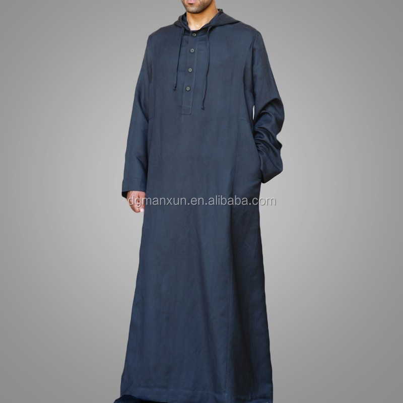 High Quality Daffah Thobe Arabian Robe Saudi Style Muslim Clothing For Men Arabic Thobe Jubbah1.jpg