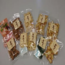 Various flavors of Okaki rice Japanese snack suitable for gift