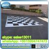 cheap dance floor china high quality click-lock system bamboo pvc fl basketball flooring