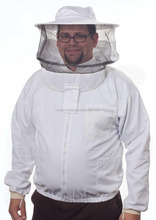 High quality and nice style Bee suit,Bee jacket, Beekeeping industry first choice 100% cotton protective beekeeping jacket