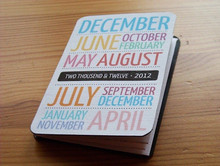 2015 table calendar printing/pocket calendar card printing
