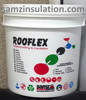 Rooflex acrylic based joint free waterproofing coating/membrane in dubai & pakistan for Roof & exterior wall