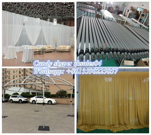 RK Wholesale Pipe And Drape, wedding Pipe And Drape with adjustable pole crossbar
