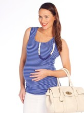 Blooming Angel Basic Maternity Cotton Tank