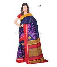 Handloom silk saree | Saree blouse pattern