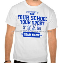 Custom School Sports Short Sleeve T Shirt