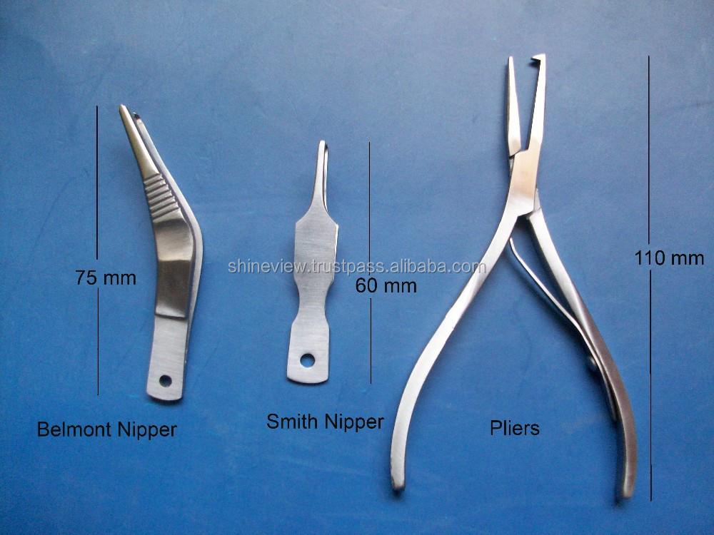 Mini split ring pliers fishing tools split ring for Fly fishing pliers