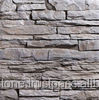 Artificial stone ledge stone walling tile 500x100x30 mm