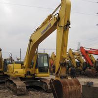 Cheap Komatsu PC200-8 crawler excavator, used crawler excavator in China