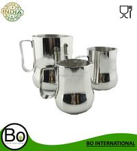 Three-size Metal Stainless Steel Milk Cup/Milk Jug/Pitcher