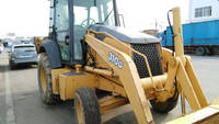 used condition John deere 310G backhoe loader John deere 310G backhoe loader with hydraulic engine