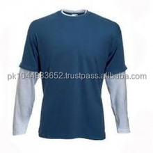 Casual easy fit stylish long sleeve t shirt for cheap price