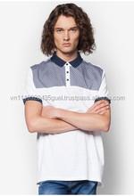 T_high qualidade new design personalizado de manga curta t-shirt do polo dos homens