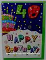 Feliz $number tarjetas de felicitación de cumpleaños